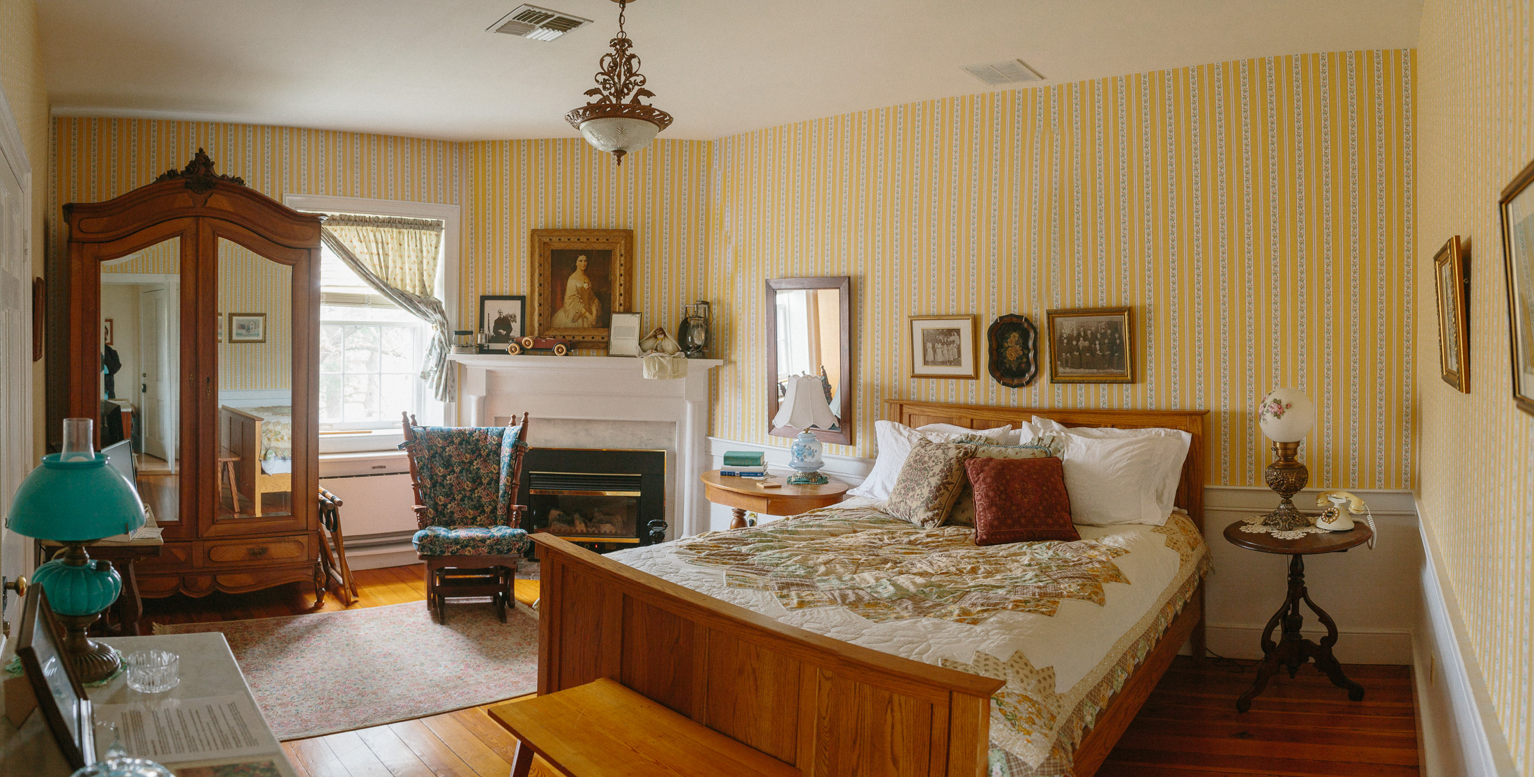 Aunt Emma's Room at Cave Hill Farm Bed and Breakfast - an 1830s historic manor home in the Shenandoah Valley of Virginia